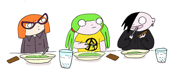 ruokalassa